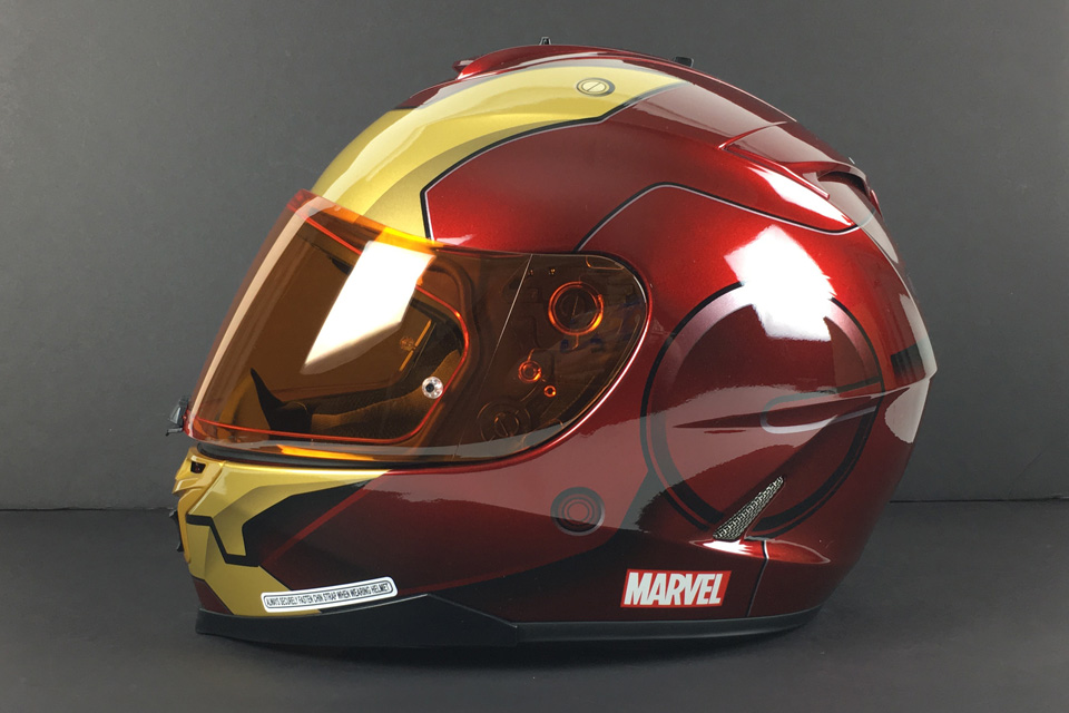 HJC IS-17 Marvel Iron Man Full Face Helmets