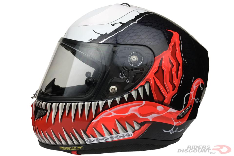 hjc rpha 11 pro marvel venom helmet suzuki gsx r motorcycle forums. Black Bedroom Furniture Sets. Home Design Ideas