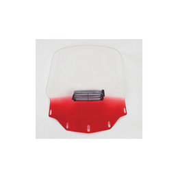 Memphis Shades Windshield Tall Vented Ruby For Honda GL1500