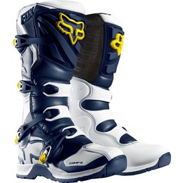 Fox Racing Mens Special Edition Comp 5 Boots White