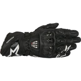 Alpinestars Mens GP Pro R2 Leather Riding Gloves Black