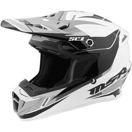 MSR SC1 Phoenix Motocross MX Helmet White