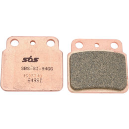 SBS ATV Off Road SI Sintered Rear Brake Pads Single Set Arctic Cat Suzuki 649SI Unpainted