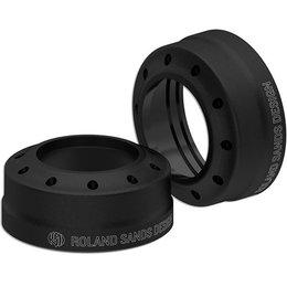 RSD Tracker Fork Dust Cap For Harley Davidson 39mm Black Ops 0208-2087-SMB Black