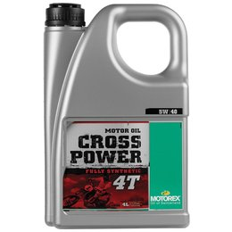 Motorex Cross Power 4T Full Synthetic Oil For 4-Stroke Engines 5W40 4 Liter