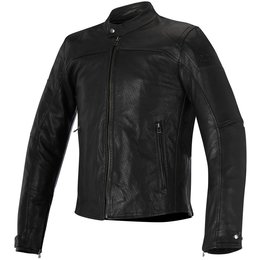 Alpinestars Mens Brera Airflow Armored Leather Jacket Black