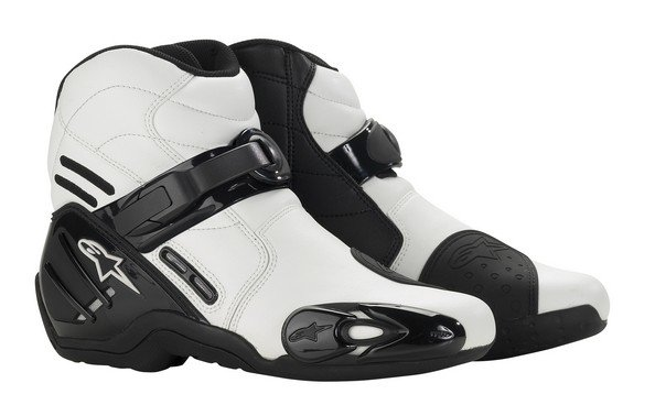 vented white alpinestars smx 2 boots white vent us 75