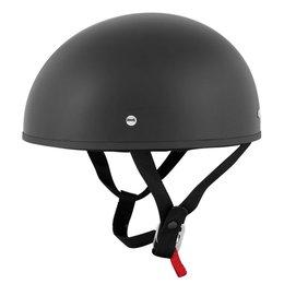 Speed & Strength SS210 Solid Speed Half Helmet Black