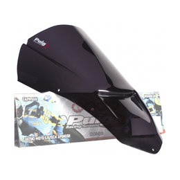 Puig Racing Windscreen Dark Smoke For Aprilia Tuono R 2006-2010