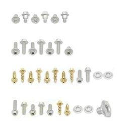 Bolt MC Full Plastics Fastener Kit Steel For KTM 200 EXC 250 EXC 250 EXC Unpainted