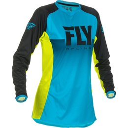 Fly Racing Youth Girls Lite Jersey Blue