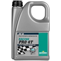 Motorex Racing Pro 4T Full Synthetic Oil For 4-Stroke MX Engine OW40 4 Liter