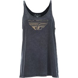 Fly Racing Womens Imprint Tank Top Black