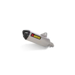 Stainless Steel Midpipe, Titanium Muffler, Carbon Fiber End Cap Akrapovic Slip-on Muffler Stainless Titanium Carbon For Bmw C650gt 2012-2013