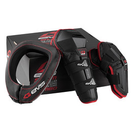 Black, Red Evs Slam Combo With Option Guards And R2 Race Collar 2014 Black Red
