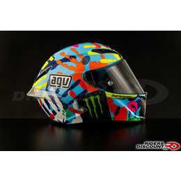 AGV Limited Edition Valentino Rossi Corsa Misano 2014 Full Face Helmet Multicolored