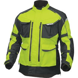 Fly Racing Mens Terra Trek 4 Textile Jacket Yellow