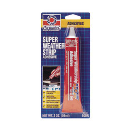 Permatex Super Weatherstrip Adhesive 2 Ounces 80638