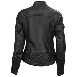 RSD Womens Riot Leather Riding Jacket Black
