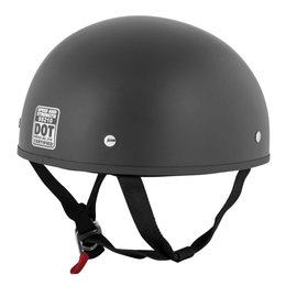 Speed & Strength SS210 Solid Speed Half Helmet Black