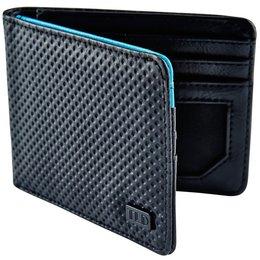 Troy Lee Designs Mens Grip Debossed Bi-Fold Wallet Black