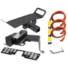 KFI UTV Multi-Mount Kits For Polaris Black UTV-875-Y Unpainted