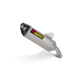 Stainless Steel Midpipe, Titanium Muffler, Carbon Fiber End Cap Akrapovic Slip-on Muffler Stainless Titanium Carbon For Bmw C600 Sport 2012-2013