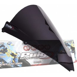 Puig Racing Windscreen Dark Smoke For Aprilia RSV4 RSV 4 2009-2011