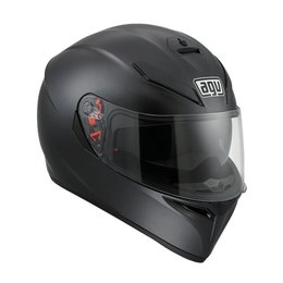 AGV K-3 SV Solid Full Face Helmet Black