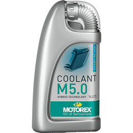 Motorex M5.0 Ready-to-Use Premixed Coolant 1 Liter 102395 Unpainted