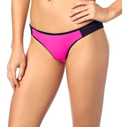 Fox Racing Womens Capture Skimpy Brazilian Fit Bikini Bottom Pink