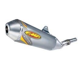 Stainless Steel Midpipe/aluminum Muffler/stainless Steel Endcap Fmf Powercore 4 Slip-on Exhaust Aluminum For Honda Crf450r 2011-2012