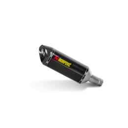 Stainless Steel Midpipe, Carbon Fiber Muffler, Carbon Fiber End Cap Akrapovic Slip-on Muffler Hexagonal Stainless Carbon For Suzuki Gsx-r1000 2012