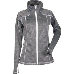 Divas Womens Performance Lightweight Fleece Jacket Black