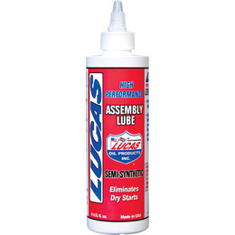 Lucas Oil Semi-Synthetic Assembly Lube 8 Oz 10153 Unpainted