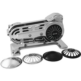 Belt Drives 2 Inch Drive For Softails And Baggers Harley Softail Chrome EV-700P Unpainted