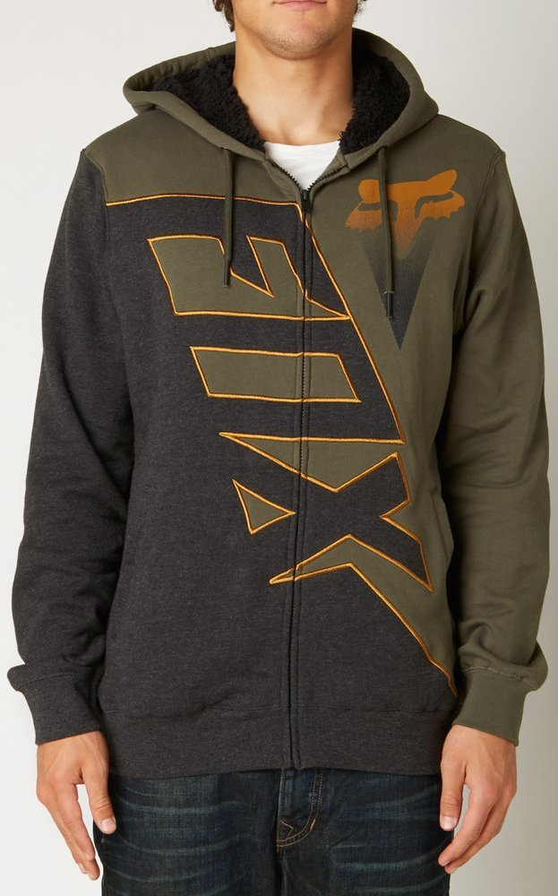 Fox zip up hoodie