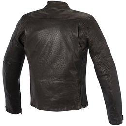 Alpinestars Mens Brera Airflow Armored Leather Jacket Brown