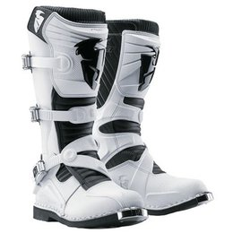 White Thor Ratchet Boots Us 9