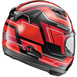 Arai Signet-X Place Full Face Helmet With Flip Up Shield Red