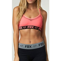 Fox Racing Womens Race Sports Bra Active Bodywear Underwear Red