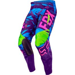 Fox Racing Mens Special Edition 180 Vicious Pants Blue