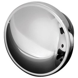Kuryakyn Replacement Stock Style Vented Gas Cap Chrome For Harley-Davidson Unpainted