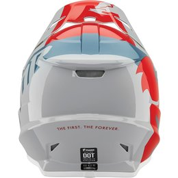 Thor Youth Sector Shear Helmet Red