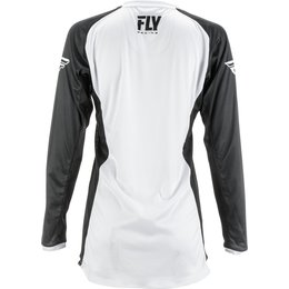 Fly Racing Youth Girls Lite Jersey White
