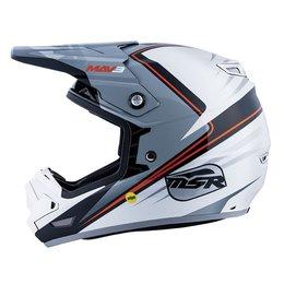 MSR MAV 3 Block Offroad Helmet With MIPS Silver