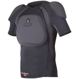 Forcefield Pro X-V-S CE Level 2 Certified Armored Riding Shirt Black