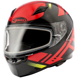 GMAX FF49 FF-49 Berg Snowmobile Helmet With Dual Pane Shield Red
