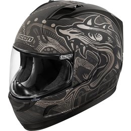 Icon Alliance Oro Boros Full Face Helmet Black