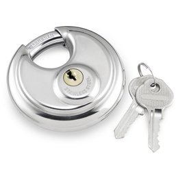 Stainless Steel Bully Locks 70mm Round Padlock